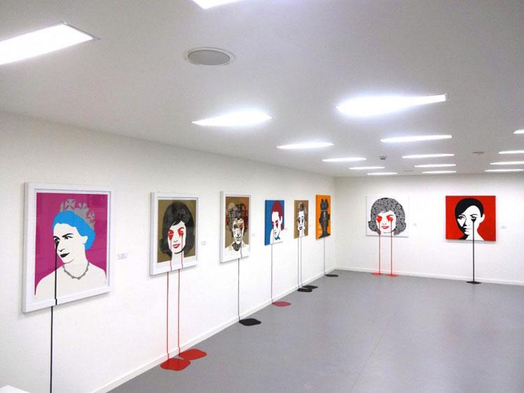 Pure Evil Saatchi Gallery