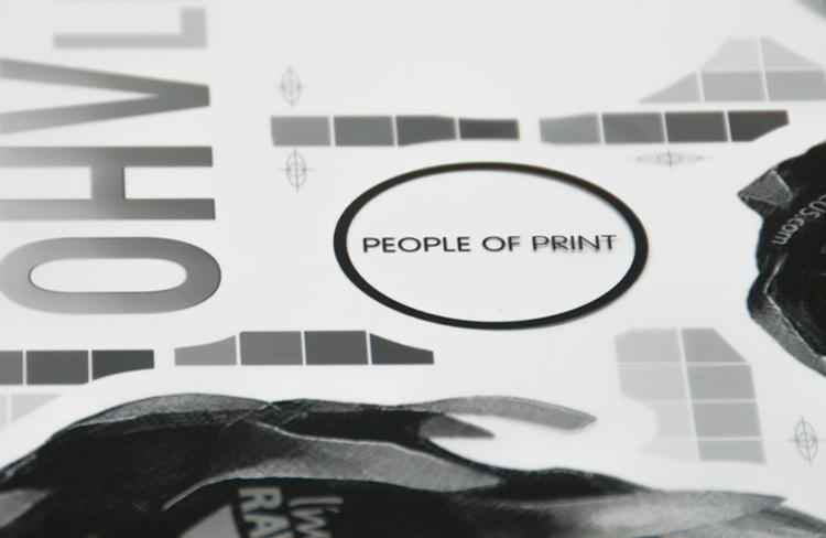 Stickerobot silkscreen transparent film