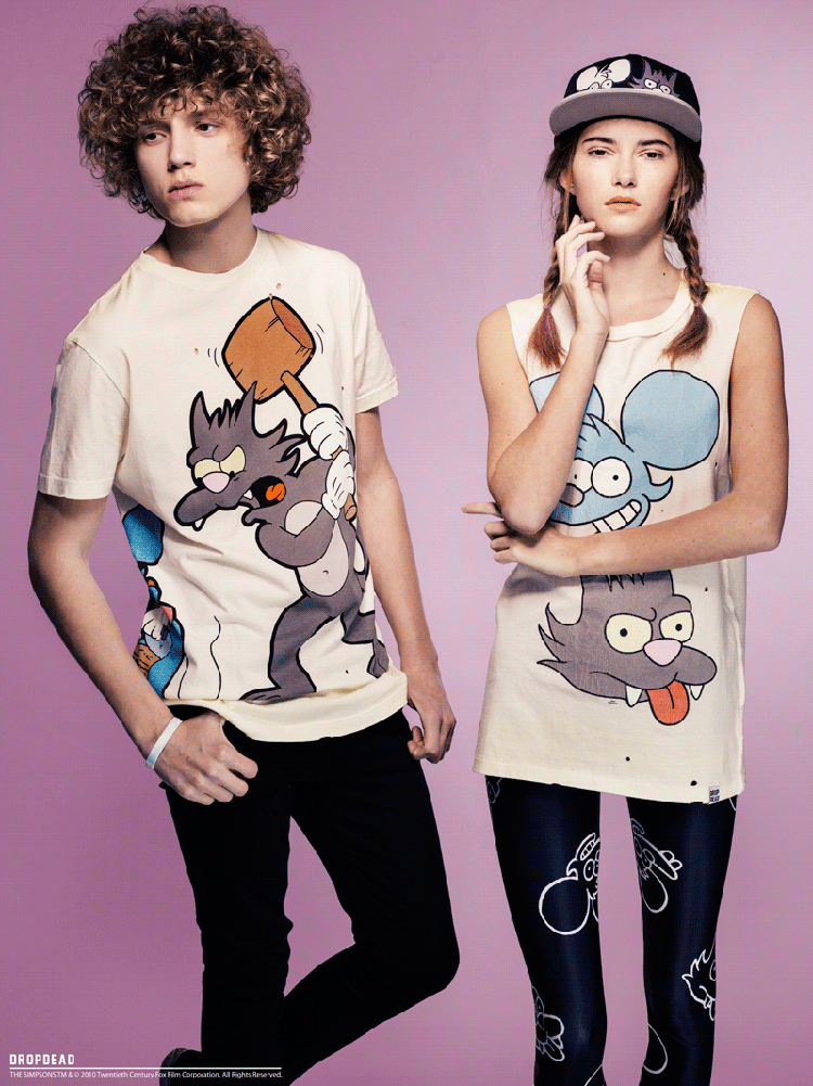 Drop Dead Clothing | Itchy & Scratchy | People of PrintDrop Dead Clothing Ghost