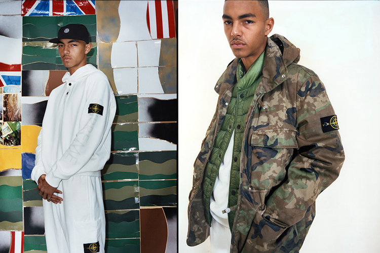 a792d800 ... Stone Island to drop a capsule collection for AW14. Consisting of the  Raso Gommato Cover Nero jacket, a crewneck, hoodie, hat and joggies the  collection ...