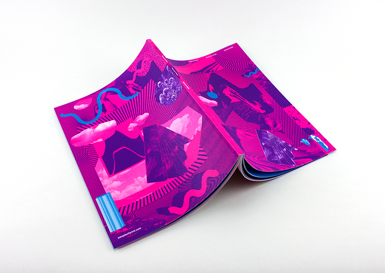 litho cover Element 002 printisntdead heretic london