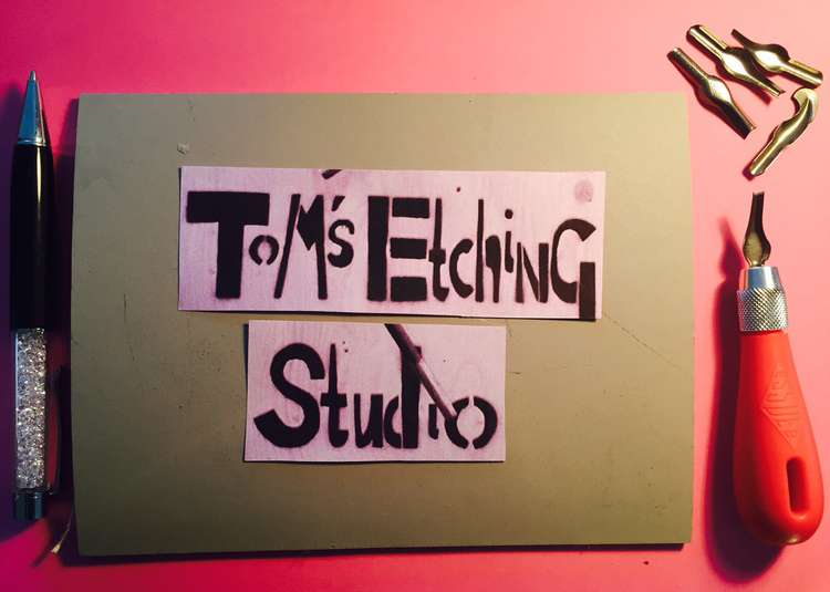 Tom's Etching