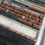 Lost Words Workshop by The Counter Press at Type Archive