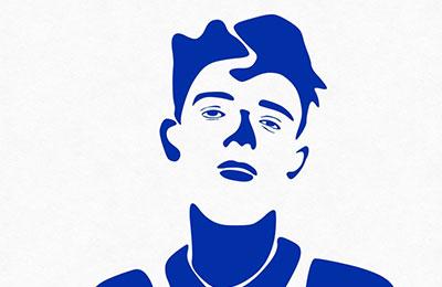 J.D. Safak — The Artist Who Uses Blue